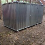 Huurcontainer 4×2, EDL, School