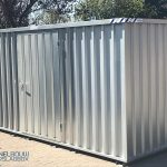 Huurcontainer 4×2, EDL, Terein